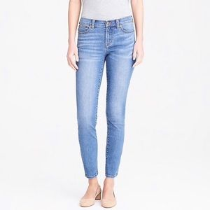 J Crew Factory Mid Rise Stretch Skinny Jeans